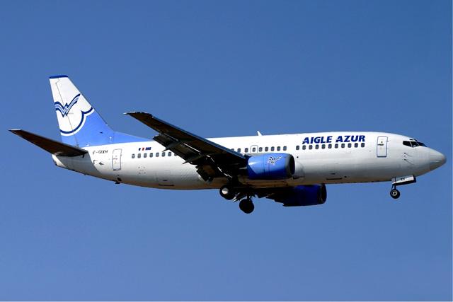 Aigle Azur renforce ses vols Paris-Alger