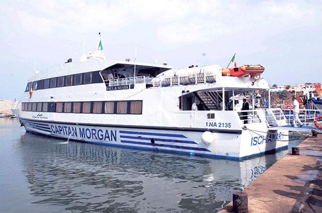 bateau Capitan Morgan