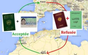 entrée en Algérie