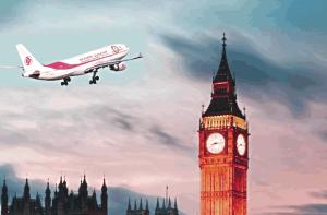 Air Algérie - Londres-Alger
